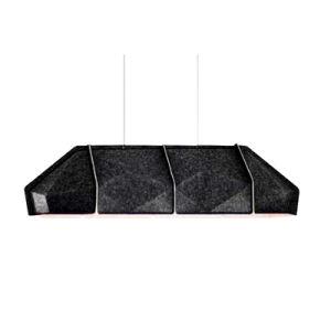 Großer Polyester-Faser-akustischer Absorptions-Lampenschirm für Konferenzzimmer