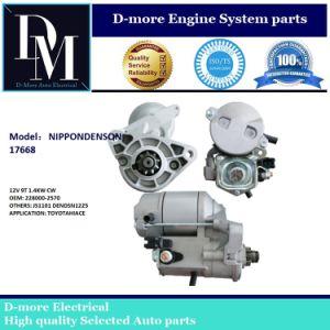4WD Hilux Hiace 2.4 2.0 2.4 228000-2570 Js1101 Lrs01378 17668 17668 0986024230 2810075070 El Motor de arranque 12V 9t 1,2 kw
