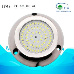 316ステンレス鋼ハウジングが付いている樹脂によって満たされるIP68 6W RGB LEDの水中プールライト