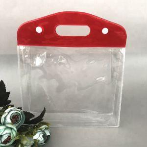 卸し売り透過洗面用品袋の防水構成PVC化粧品の袋