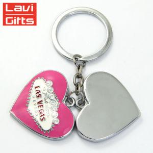 싼 주문 금속 다이아몬드 Keychain 의 다이아몬드 모양 열쇠 고리