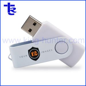 Le métal Twister Pendrive de pivotement de la mémoire flash USB Pen Drive