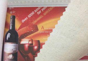 熱い販売法インクジェット印刷のための防水ポリエステルキャンバス260g