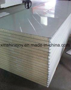 Isolation en mousse PU panneau sandwich composites en aluminium