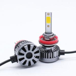 El color amarillo de H8 H9 H11 de luz LED Auto