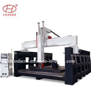 중국 공급자 5 축선 CNC 목제 새기는 기계 고품질