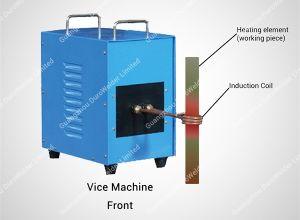 金属の溶けることおよび鋳造機械