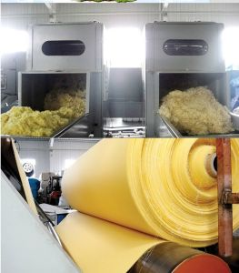 Polyimide P84 Filterstoff-antistatische Filtertüte mit PTFE Garn für Luftfilter-Sammler