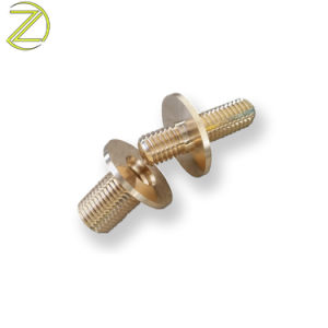관례 CNC Turnded 금관 악기 /Copper 물자는 좋은 품질을%s 가진 빠른 잠그개를 만들었다