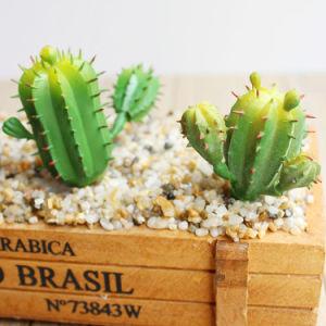 Пластиковый Кактус тропических растений Искусственные растения декор для настольных ПК