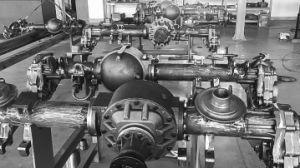 La fabricación profesional de la suspensión del eje Portal 4X4 /6X6 para carretilla especiales