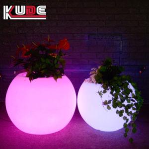 Licht op van de LEIDENE van de LEIDENE Pot van de Bloem Pot de Lichte Bloem van de Tuin