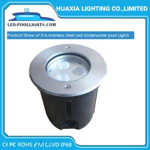 Indicatore luminoso subacqueo LED della piscina chiara sotterranea IP68 di DC12V/24V