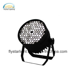 120pcs 3W RGBW etapa de lavado de luz LED PAR