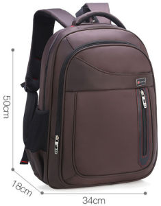 カスタマイズされた業務用コンピュータ袋の倍の肩のバックパック15.6のインチLaptopbag