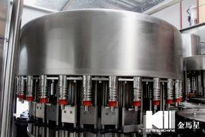 8000bph Caixa líquido mineral puro Vidro Pet água gasosa garrafa de sumo de enchimento de produção completa de bebida energética 3 em 1 Máquina de engarrafamento de água de enchimento