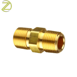 Le CNC spéciale du Service de la Compression de tubes en cuivre de fixation du tuyau de connecteur de la griffe de flexible du raccord en laiton de jardin tétine