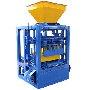 Fabricação de tijolos de Cinzas concretas Máquinas para fazer blocos no Paquistão