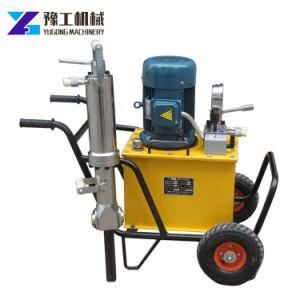 Calcestruzzo della Cina e divisore idraulici guidati elettrici della roccia