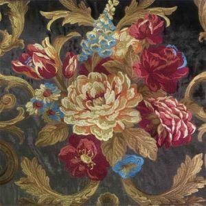 Бархатной вышивки ткань