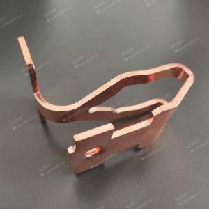 Fábrica de precisión profesional personalizado progresiva de las piezas de metal de hoja de aluminio