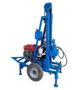 Machine de forage 110-200mm de diamètre de 120m de l'eau plate-forme de forage de puits