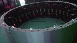 デジタル掲示板のための屋外のフルカラーP8フットボールのLED表示