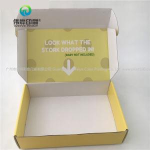 Compensatie van de douane drukte de GolfVakjes van de Gift van het Document Verpakkende af