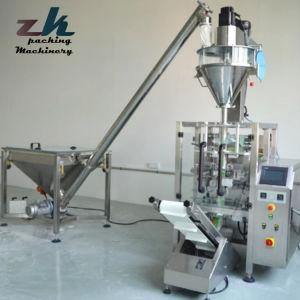 Pequeña Bolsita de leche en polvo de café Bolsa Vertical Automática Máquina de embalaje con tres lados y atrás el sellado