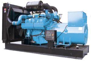 industrieller backupgenerator 1600kw/2000kVA mit MTU-Motor 12V4000g63