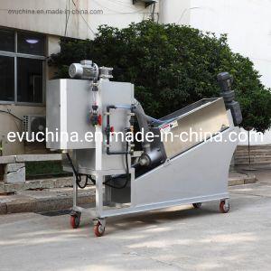 El engrosamiento y deshidratación de lodos de calidad de la máquina