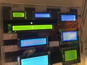 LCD Vertoning met het Witte Positieve LCD Scherm van Backlight Htn