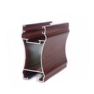 Profil de Profilé en aluminium pour la conception de l'armoire coulissante de porte en verre