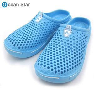Dernière conception jardin EVA unisexe Sabots Chaussures hommes pantoufles sandale de Logo personnalisé