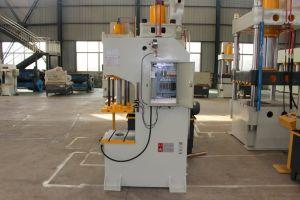 63 toneladas de tipo C prensa hidráulica para la arandela cuadrada agujero punzonadora