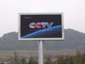 L'extérieur de la publicité pleine couleur HD P10 du panneau affichage LED