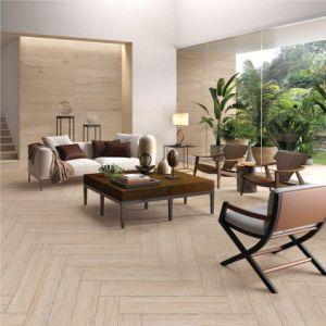 De houten Verglaasde Tegels van de Vloer van het Bouwmateriaal van Inkjet Ceramische