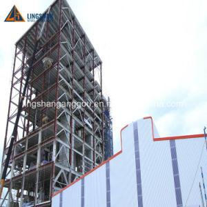 Bajo coste de estructura de acero prefabricados para nave industrial galpón Taller Construcción