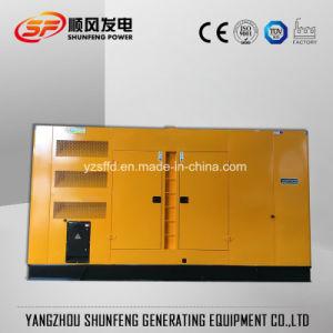 Diesel insonorizzato silenzioso Genset di energia elettrica di 420kw Doosan