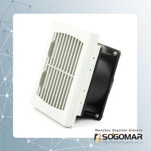 Осевой вентилятор 4 дюйма шариковый подшипник с металлической рамой с фильтром и пальцев