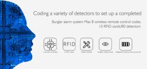 2018 neues 3G G/M WiFi intelligentes inländisches Wertpapier-Alarm-System mit Kontakt Identifikation-Tür-Kontakt
