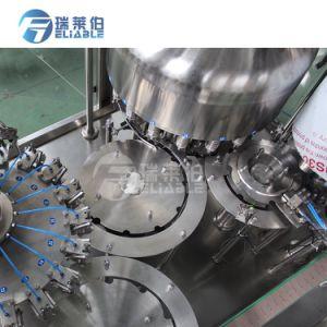 L'Eau Pure minérale automatique de la table de l'embouteillage de la machine de remplissage