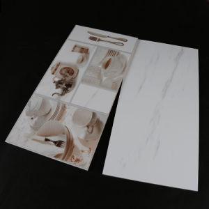 De witte Zwarte Lijn van de Kleur poetste Verglaasde Porselein & Ceramiektegel voor Muur en Vloer op