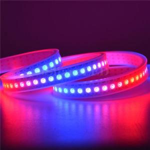 Tira de LED RGB flexibles ws2812b 2811 TIRA DE LEDS de 5V para construir el Hotel Club KTV iluminación del techo interior