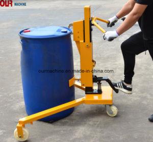 Fabbrica che vende il camion di pallet idraulico del timpano di olio da 55 galloni della mano con l'alta qualità Dt350c