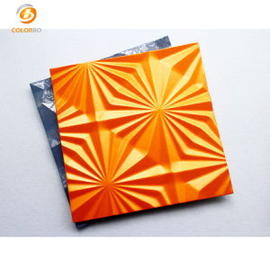 Un gran rendimiento y facilidad de instalación la Decoración Interior panel 3D