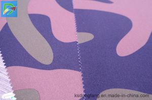 아래로 증거를 인쇄하는 직물 재킷 직물 300d 높 탄력 있는 옥스포드