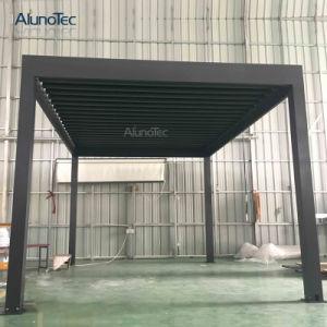 De unieke Pergola van het Aluminium van het Ontwerp Intrekbare voor Tuin