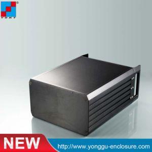 Amplificateur de puissance à montage sur rack boîtier en aluminium ou montable en cas d'ordinateur