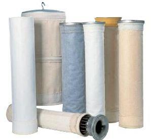 Poliamida P84 la bolsa de filtro Filtro de paño antiestático con hilo de PTFE para coleccionista de filtro de aire